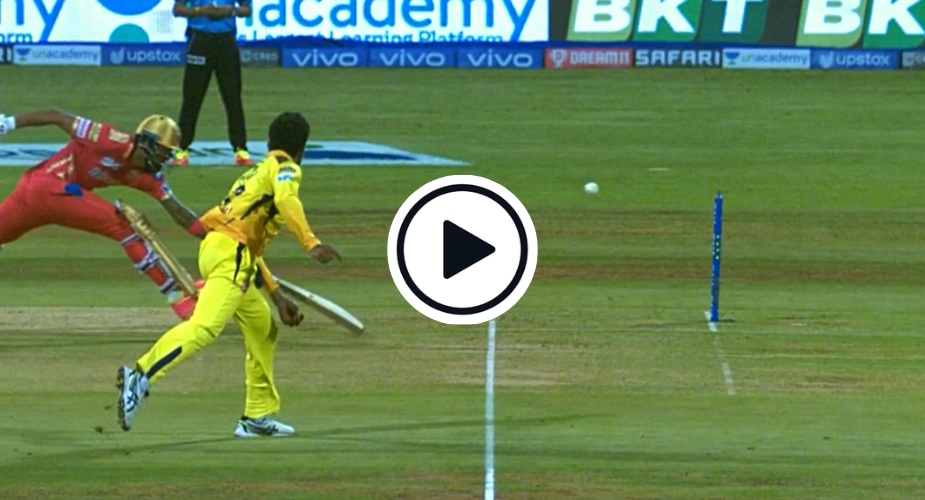 Watch: Ravindra Jadeja unleashes bullet throw to affect one-stump run out