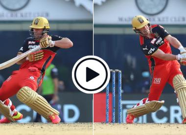 Watch: Highlights of AB de Villiers' extraordinary 76 against KKR