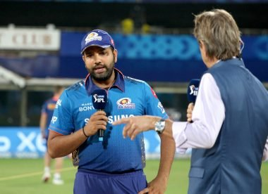 Rohit Sharma fined for slow over-rate despite barely taking the field as captain