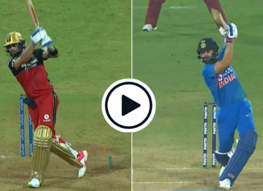 Watch: The lofted cover drive that's become Virat Kohli's weapon of choice