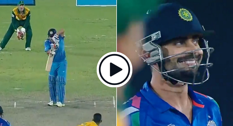 MS Dhoni plays deliberate dot ball to allow Virat Kohli hit winning runs in T20 World Cup 2014