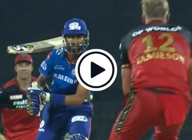 Watch: Kyle Jamieson breaks Krunal Pandya's bat with ripping yorker