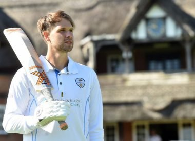 Meet Matt Critchley, the Derbyshire leggie who can't stop scoring runs
