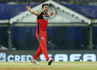 Why was Harshal Patel allowed to continue bowling despite two beamer no-balls?