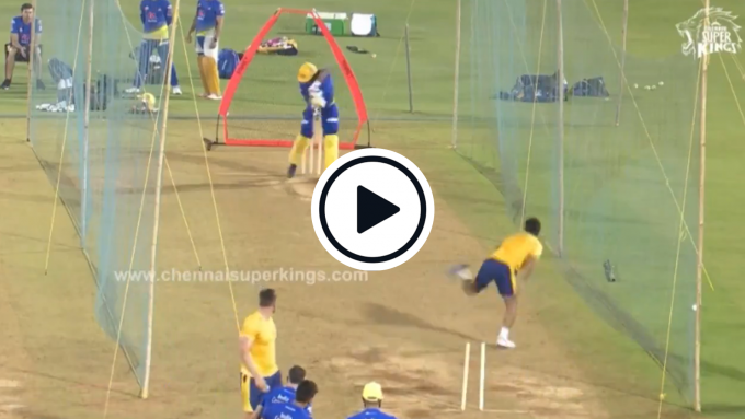 Watch: Rapid 20-year-old Afghan net bowler lights up CSK practice session