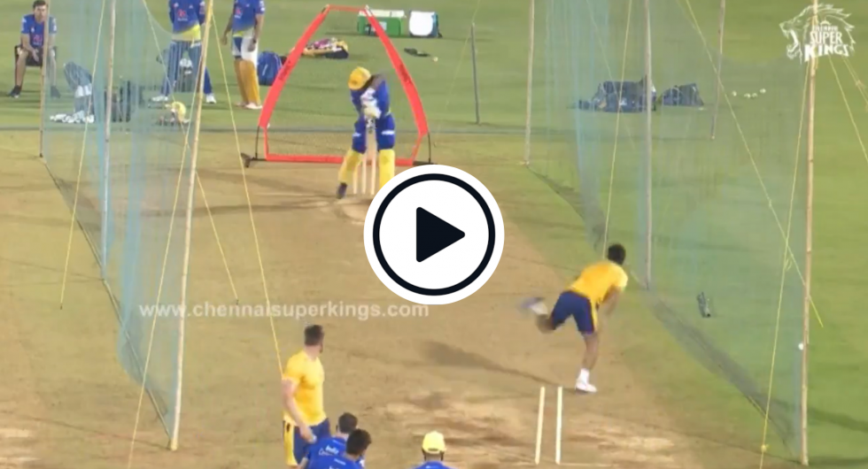 Watch: Rapid 20-Year-Old Afghan Nets Bowler Lights Up CSK Practice Session