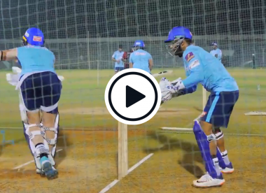 Watch: Rishabh Pant chirps IPL teammate Sam Billings in the nets