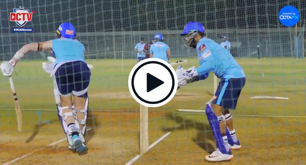 Watch: Rishabh Pant Chirps IPL Teammate Sam Billings In The Nets