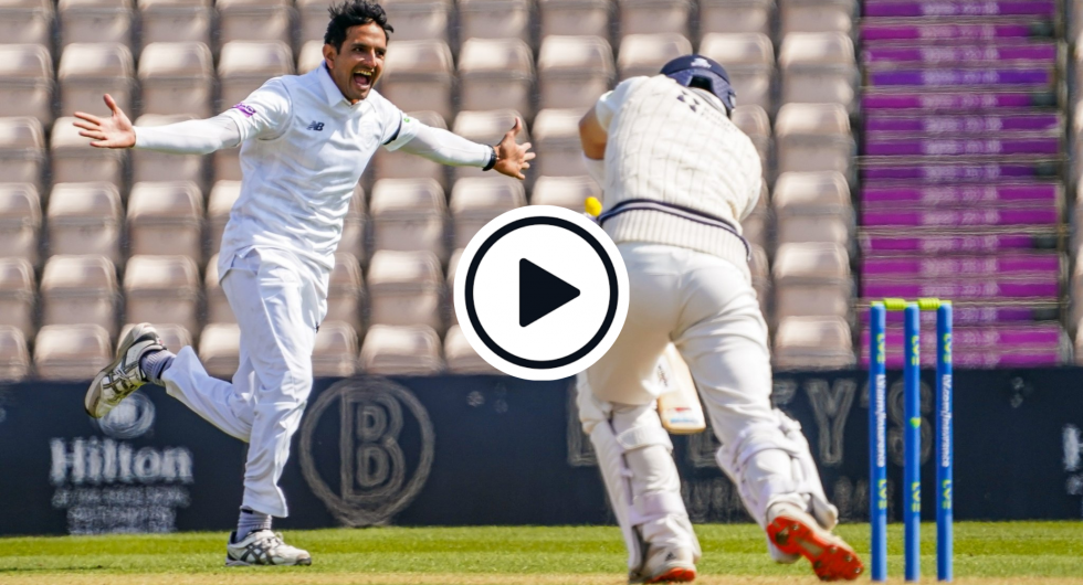 Watch: Mohammad Abbas Takes Sensational New-Ball Hat-Trick In 17-Ball County Championship Five-Wicket Haul