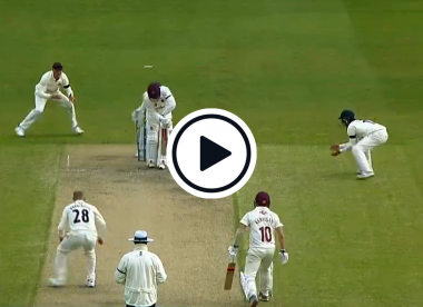 Watch: Matt Parkinson delivers Ball of the Century contender in first County Championship game since 2019