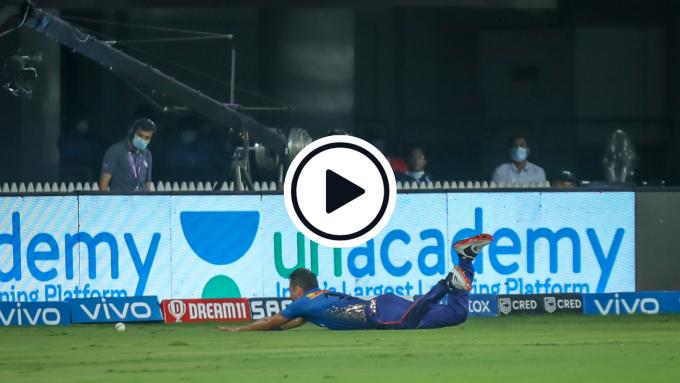 Watch: Krunal Pandya left non-plussed after hilarious Trent Boult slip'n'slide boundary stop fail