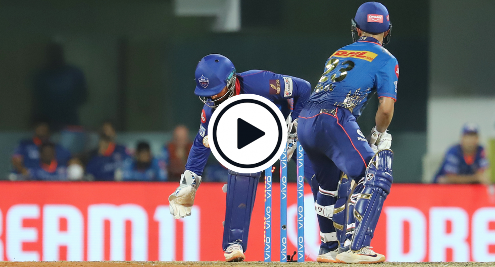 The Ishan Kishan bowled dismissal that almost went unnoticed