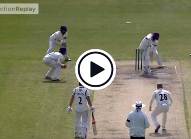 Watch: 'Horrendous' County Championship lbw decision goes viral