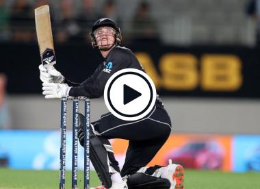 Watch: RCB's new recruit Finn Allen smashes 29-ball 71 for New Zealand
