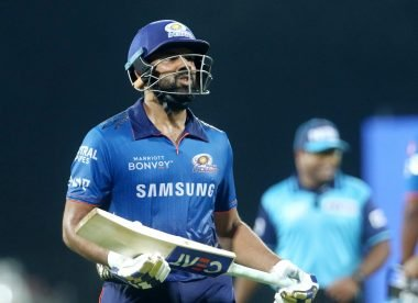 Rohit Sharma risks Code of Conduct breach with reaction to overturned caught-behind decision