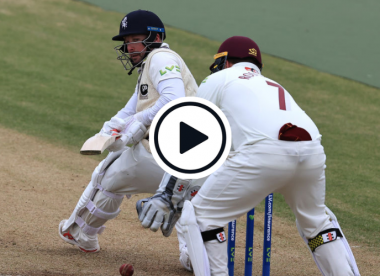 Watch: 44-year-old Darren Stevens unveils incredible reverse reverse sweep en route to 35th first-class ton