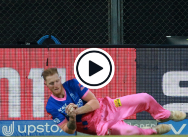 Watch: The catch that ended Ben Stokes' IPL 2021 campaign