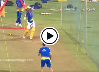 Watch: Pujara switches into IPL mode with power-packed nets session for CSK
