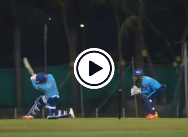 Watch: Rishabh Pant threatens windows, passers-by with incredible practice hitting