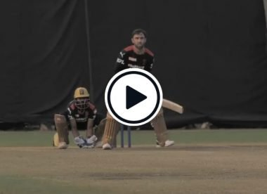 Watch: Glenn Maxwell slays RCB practice session with reverse sweeps and switch hits