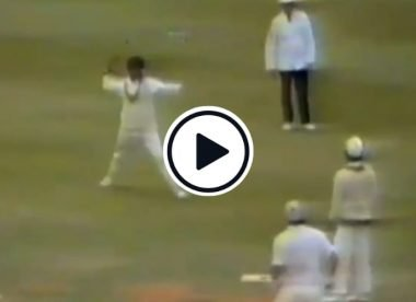 Watch: The Javed Miandad no-look throw that would have sparked a fake fielding debate today