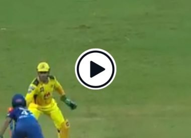 Watch: MS Dhoni attempts stumping off Moeen Ali 'moon' ball