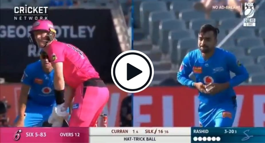 Watch: Incredibly Detailed Video Dissects Rashid Khan's Brilliant Hat-Trick Ball Hoax