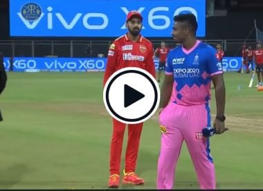 Watch: Sanju Samson keeps coin in his pocket after toss from maiden IPL game as captain