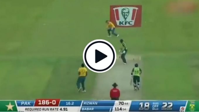 Watch: Babar Azam's innovative handling of the yorker during his brilliant century