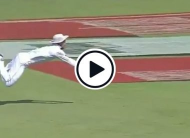 Watch: Mohammad Amir's first catch in Test cricket was absolutely incredible