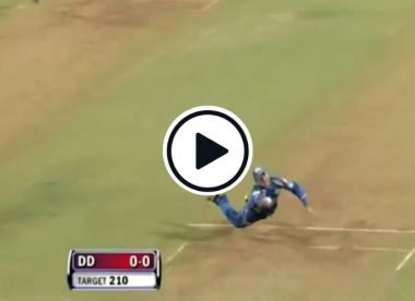 Watch: Ricky Ponting slips, regains balance and pulls off a stunning catch