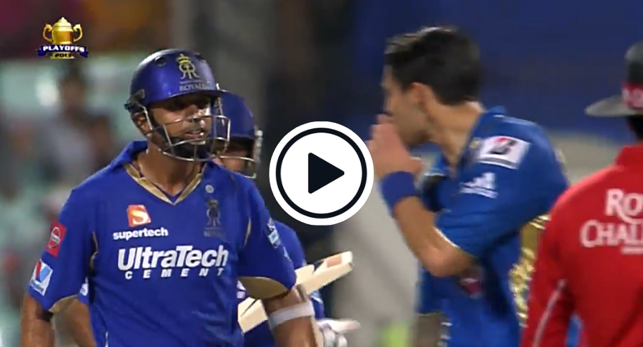 Watch: Angry Rahul Dravid Responds To Johnson's Sledge First With Words And Then With Bat
