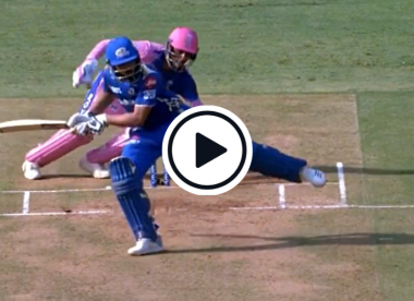 Watch: Rohit Sharma saves his wicket with quick footwork in IPL 2019