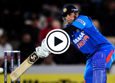 Watch: Rahul Dravid slaps three straight sixes in his first and last T20I