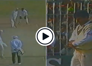 Watch: Waqar Younis bowls off-spin against Australia