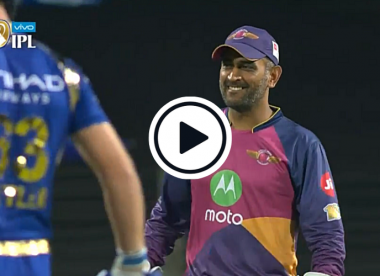 Watch: Witty MS Dhoni roasts Kevin Pietersen with just seven words on mic