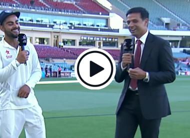 Watch: 'Welcome to captaincy' – When Rahul Dravid interviewed new Test skipper Virat Kohli
