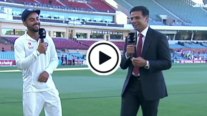 Watch: 'Welcome to captaincy' – When Rahul Dravid interviewed new Test skipper Virat Kohli