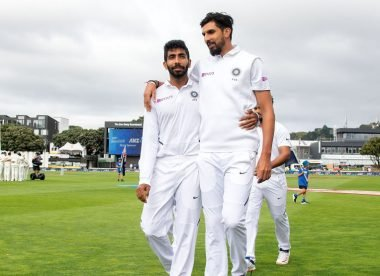 What is India's first-choice Test pace attack for the England tour?