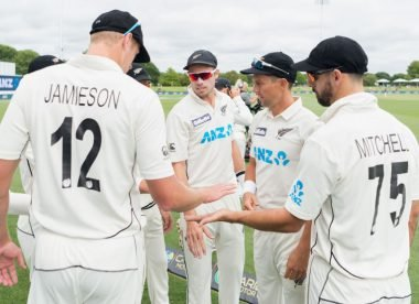 Where does New Zealand's pace attack rank among the best seam quartets this century?