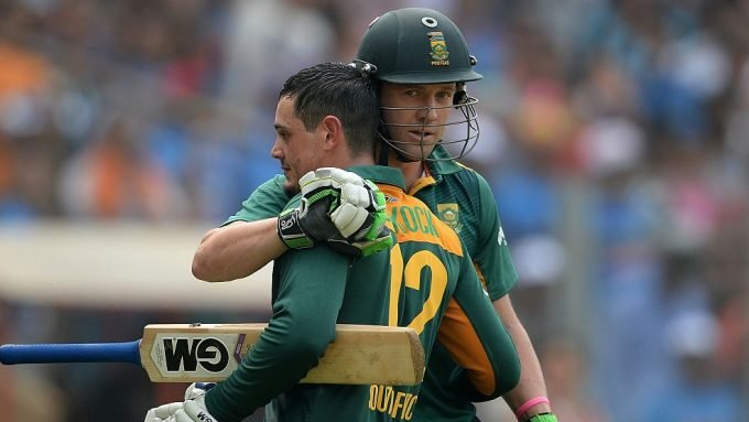 What South Africa's T20 World Cup top six could look like with AB de Villiers