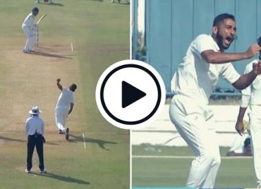 Watch: India's new Test recruit Arzan Nagwaswalla's fiery Ranji spell