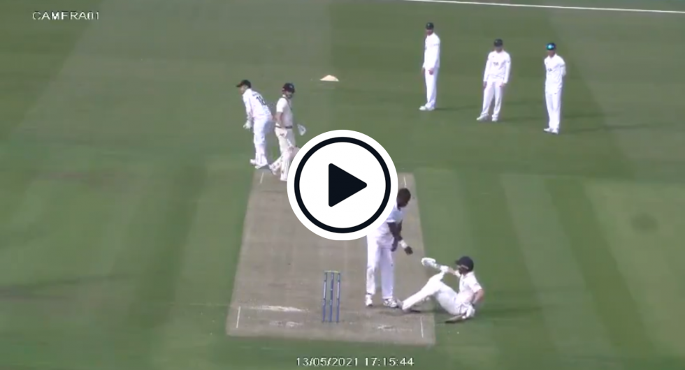 Watch: County Championship Slip-Up Goes Viral After Bowler 'Alphas' Opposition Batsman
