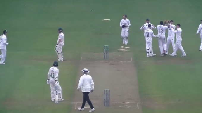 Watch: Australia batsman declines to walk in County Championship despite slip claiming catch has carried