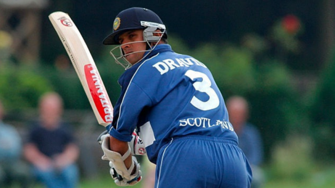 When Rahul Dravid starred for Scotland in 2003