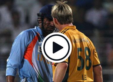 Watch: Tailender Zaheer replies to Lee's intimidation in the best possible way