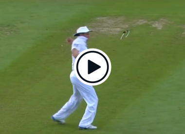 Watch: The bizarre moment Andrew Strauss broke his sunglasses in a Test match