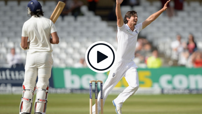 Watch: The Test wicket that delivered Alastair Cook a bowling average of seven