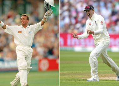The all-time England Test XI, based on the ICC rankings