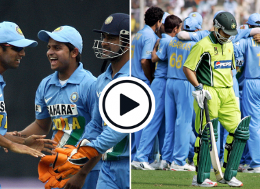 Watch: Dravid and Raina's combined masterplan to produce Akmal catch